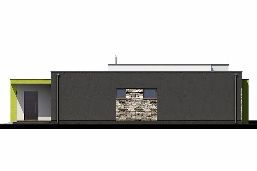 Projekt bungalovu Linear 318 obr.395