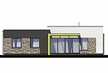 Projekt bungalovu Linear 318 obr.396