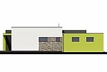 Projekt bungalovu Linear 318 obr.397