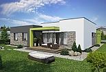 Projekt bungalovu Linear 318 obr.399