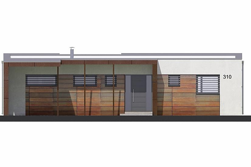 Projekt bungalovu Linear 310 obr.412