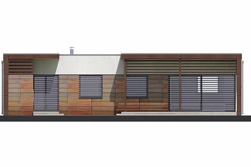 Projekt bungalovu Linear 310 obr.414