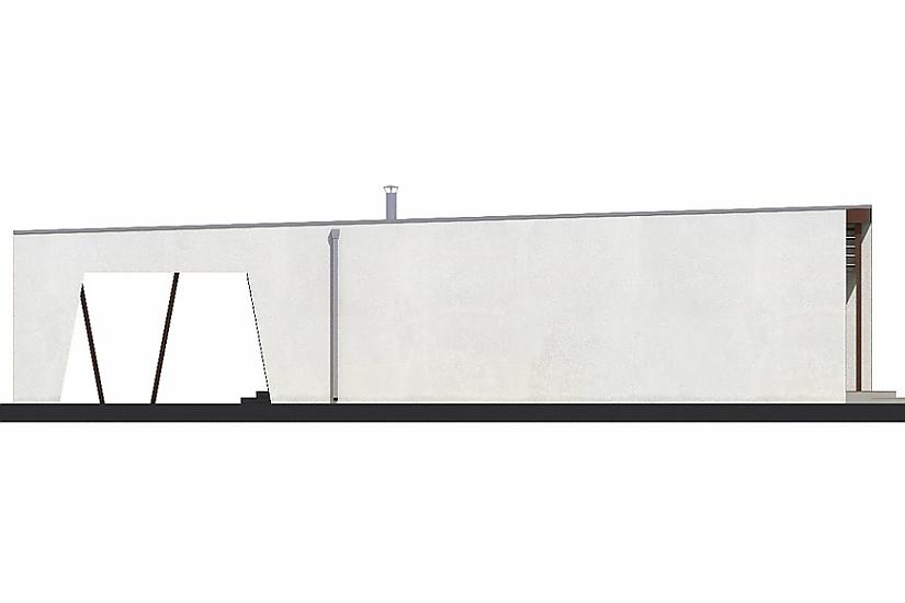 Projekt bungalovu Linear 310 obr.415
