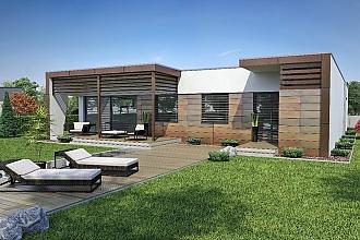 Projekt bungalovu - Linear 310