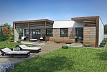 Projekt bungalovu Linear 310 obr.418