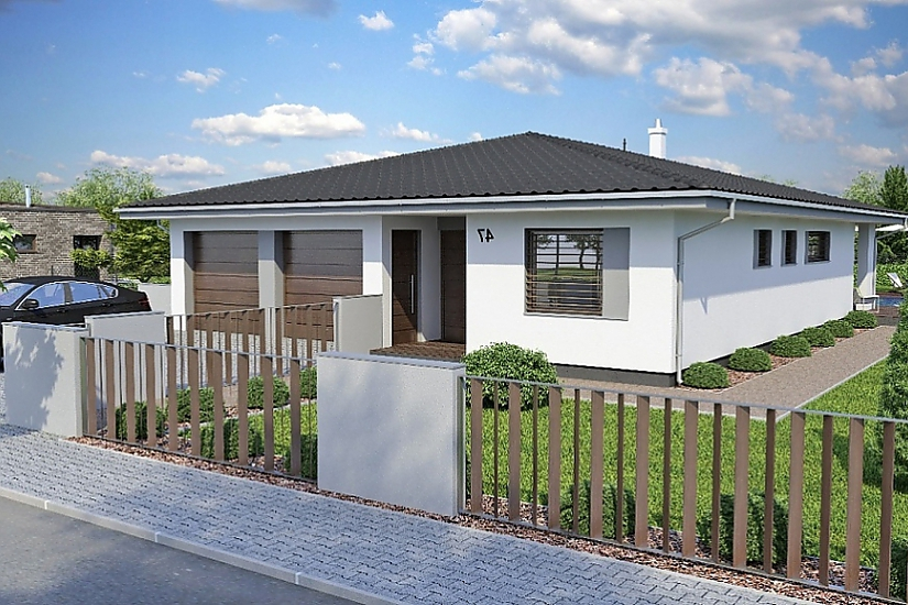 Projekt bungalovu Laguna 47 obr.417