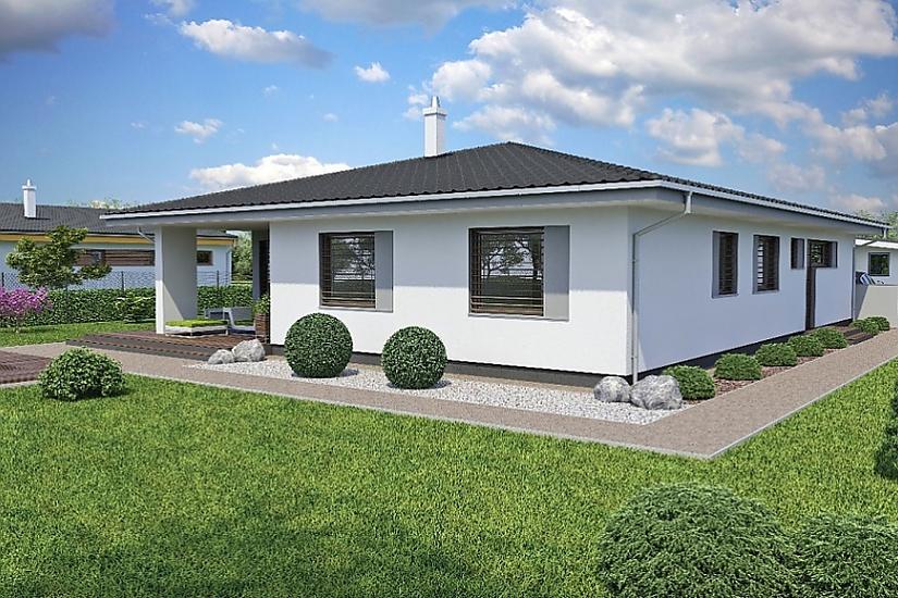 Projekt bungalovu Laguna 47 obr.425