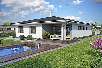 Projekt bungalovu - Laguna 47
