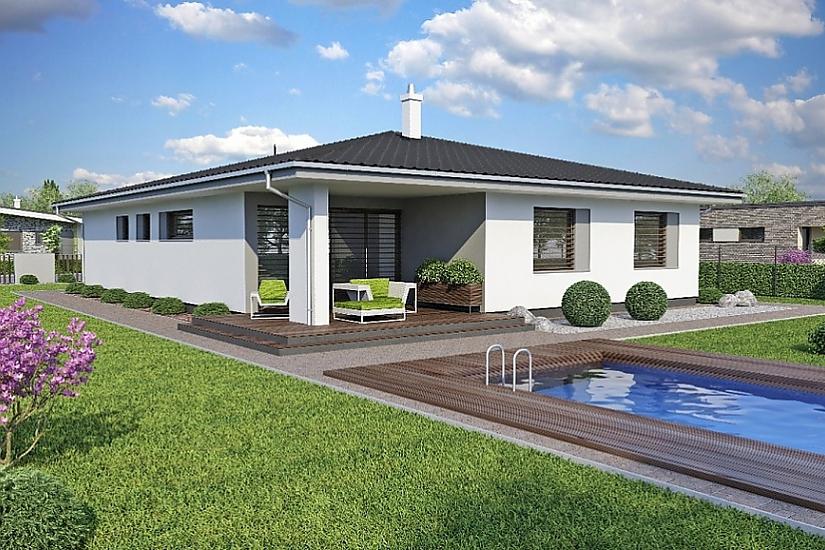 Projekt bungalovu Laguna 47 obr.426