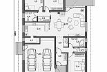 Projekt bungalovu Laguna 47 obr.469