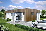 Projekt bungalovu Linear 307 obr.428