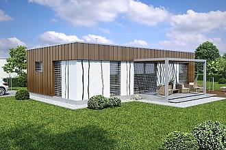 Projekt bungalovu - Linear 307
