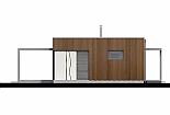 Projekt bungalovu Linear 307 obr.430