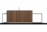 Projekt bungalovu Linear 307 obr.432
