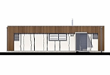 Projekt bungalovu Linear 307 obr.433