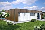 Projekt bungalovu Linear 307 obr.435