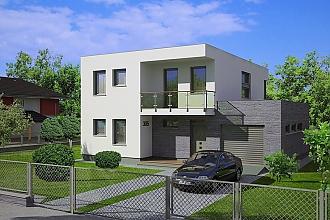 Projekt rodinného domu - Linear 305