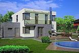 Projekt rodinného domu Linear 305 obr.438