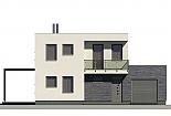 Projekt rodinného domu Linear 305 obr.439