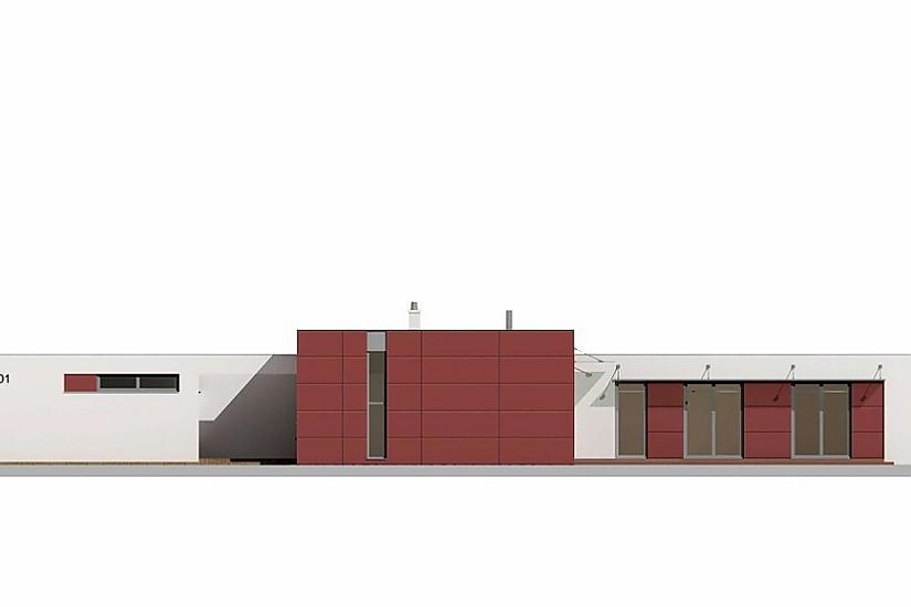 Projekt bungalovu Linear 301 obr.449