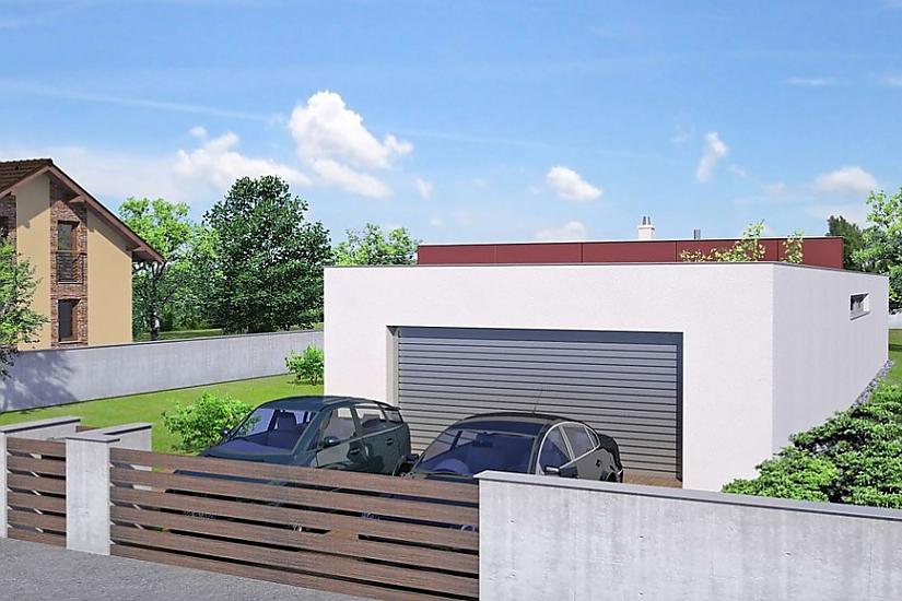 Projekt bungalovu Linear 301 obr.452