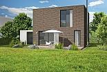 Projekt rodinného domu Cube obr.489