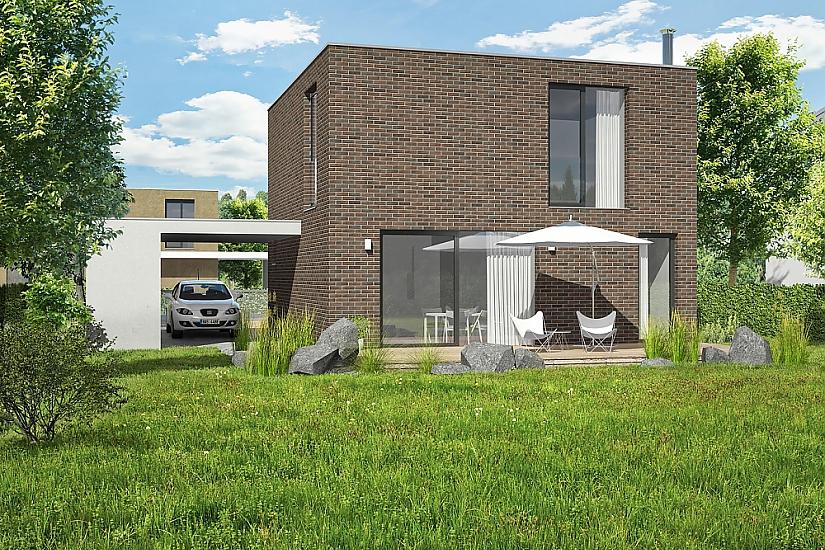 Projekt rodinného domu Cube obr.490