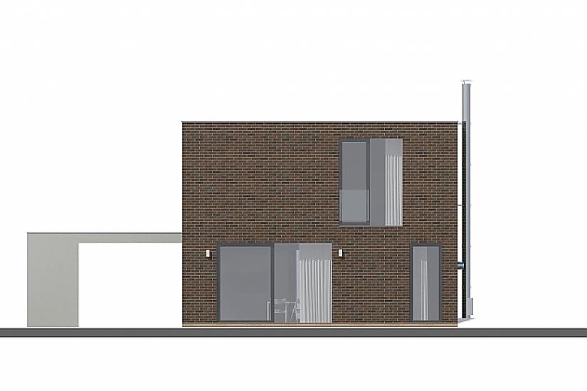 Projekt rodinného domu Cube obr.702