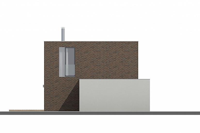 Projekt rodinného domu Cube obr.703