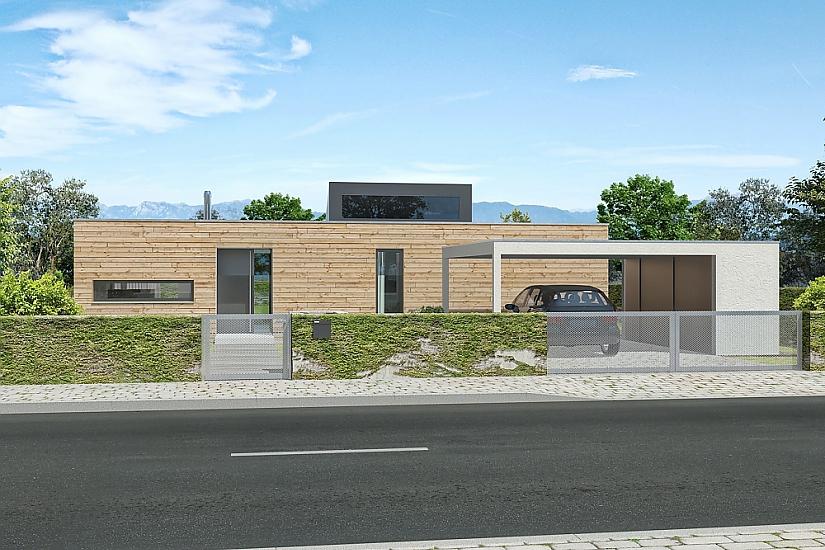 Projekt bungalovu Prima Plus obr.492