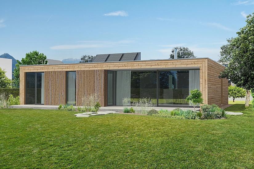 Projekt bungalovu Prima Plus obr.493