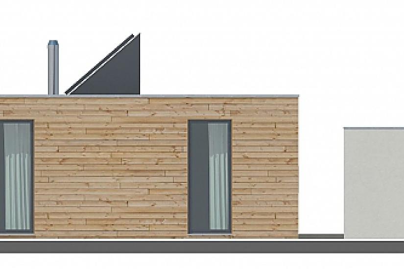 Projekt bungalovu Prima Plus obr.807