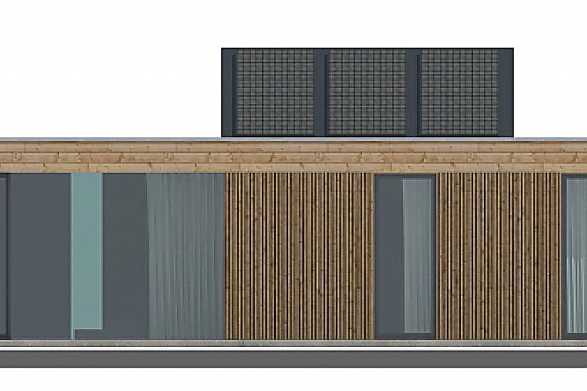 Projekt bungalovu Prima Plus obr.808