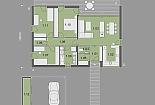 Projekt bungalovu Prima Plus obr.847