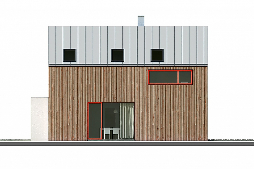 Projekt rodinného domu Homely obr.777