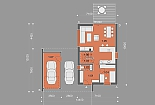 Projekt rodinného domu Homely obr.874