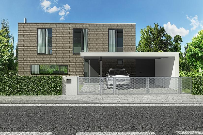 Projekt rodinného domu Open obr.509