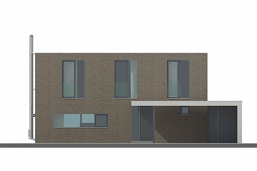 Projekt rodinného domu Open obr.794