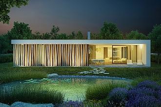 Projekt bungalovu - Dessau