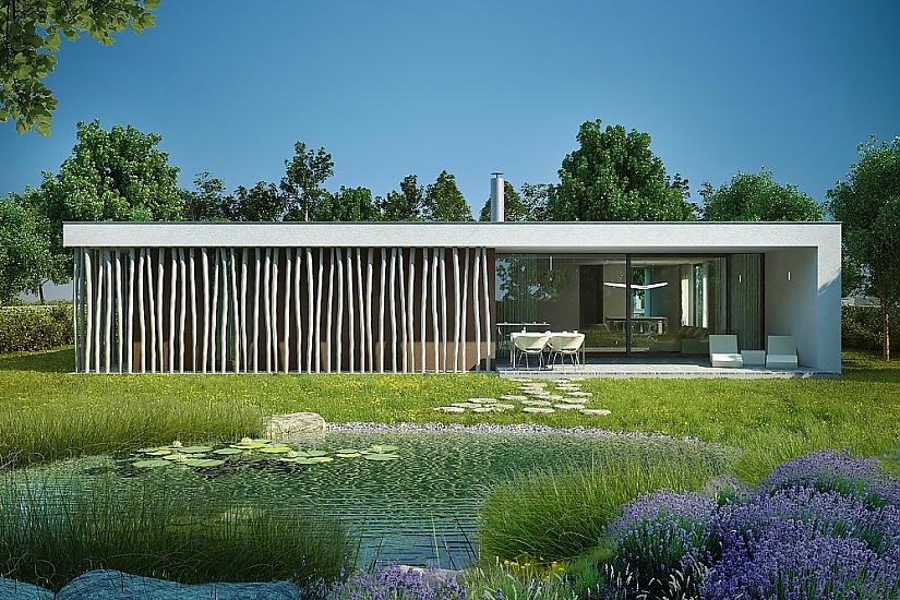 Projekt bungalovu Dessau obr.514