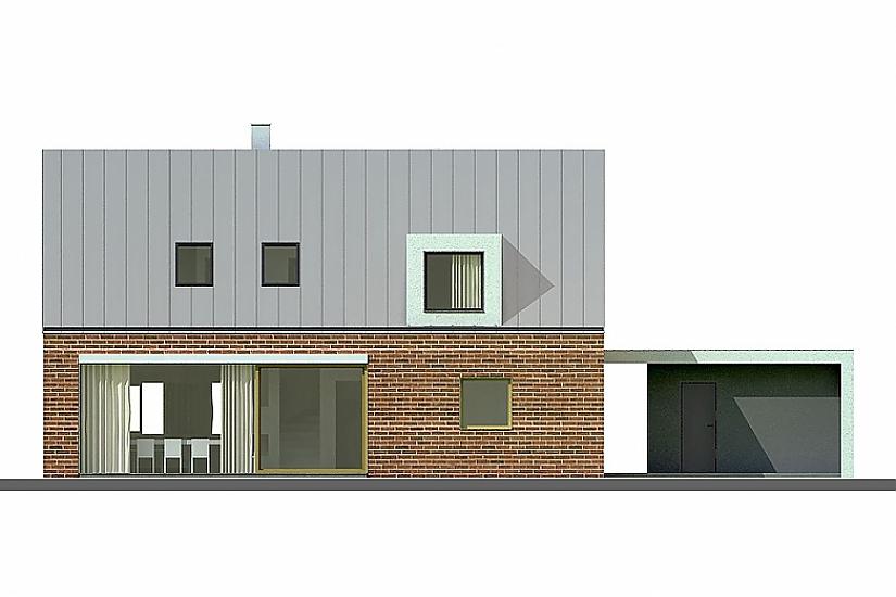 Projekt rodinného domu Actual obr.677