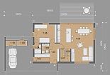 Projekt rodinného domu Actual obr.868