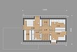 Projekt rodinného domu Actual obr.870
