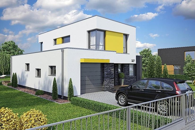 Projekt rodinného domu Linear 327 obr.31