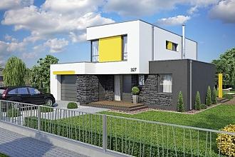 Projekt rodinného domu - Linear 327