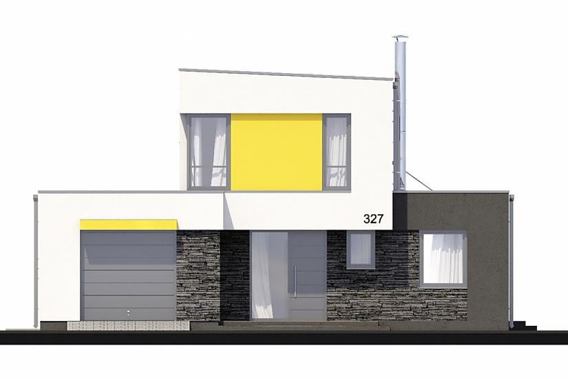 Projekt rodinného domu Linear 327 obr.33