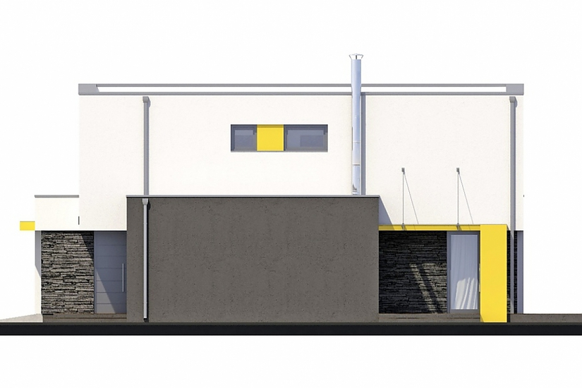 Projekt rodinného domu Linear 327 obr.34