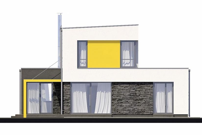Projekt rodinného domu Linear 327 obr.37