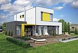 Projekt rodinného domu Linear 327 obr.39