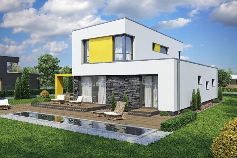 Projekt rodinného domu Linear 327 obr.40